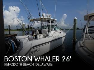 Boston Whaler 275 Conquest