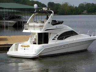 Searay 420 Sedan Bridge