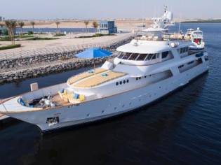CRN Classic 122ft Superyacht