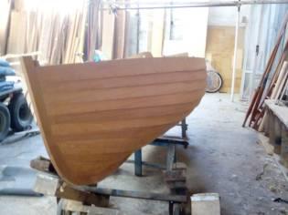Dinghy scafo in legno nuovo