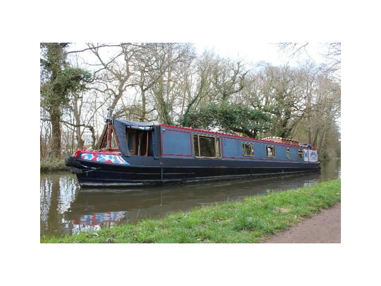 57' Semi Trad Narrowboat