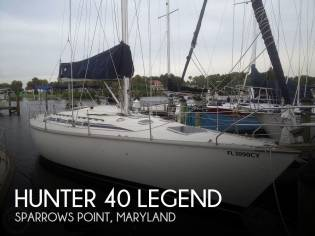 Hunter 40 Legend