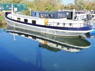 Wide Beam Narrowboat 60' Euroship Dutch barge
