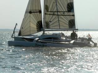 Farrier F82R trimaran sailboat