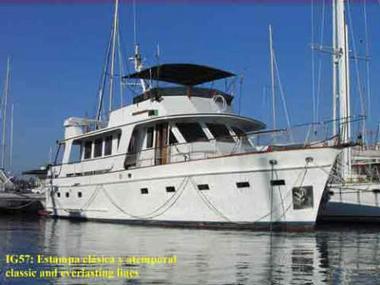 Island Gypsy 57.1 Trawler clásico