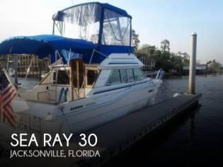Sea Ray Sedan Bridge SRV300