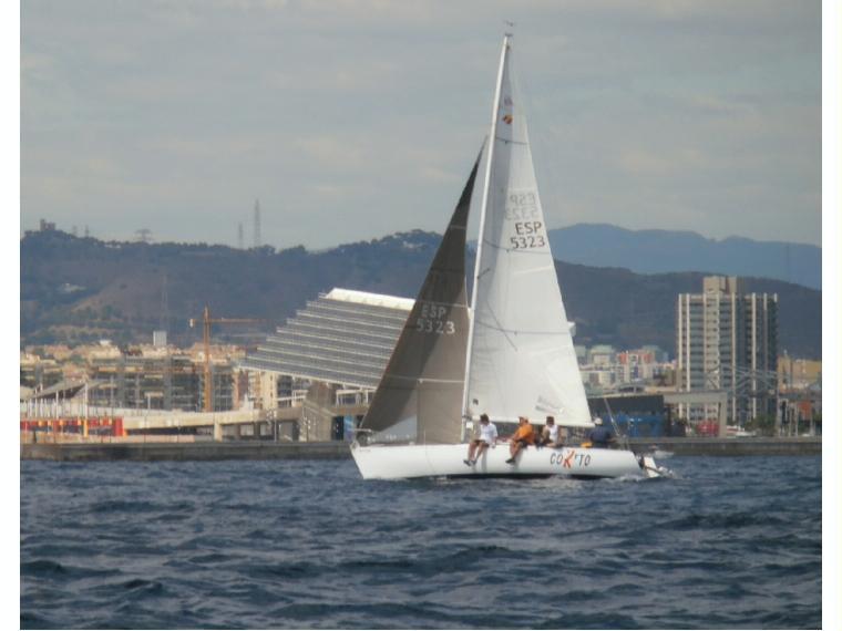 Beneteau first class 8 en rc maritim de barcelona for First class 8 interieur