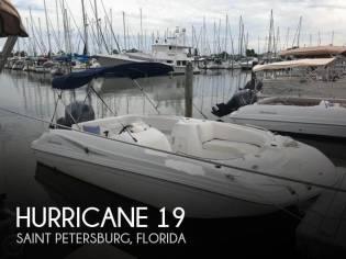 Hurricane 187 OB Sundeck
