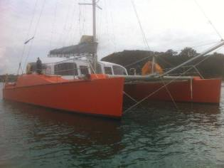 Greg Malpas Custom Performance Cruising Catamaran