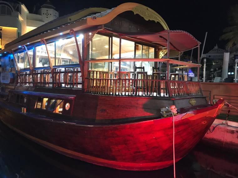 Barco histórico tailandes