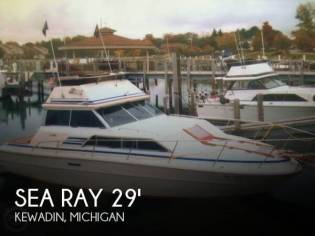 Sea Ray 300 Sedan Bridge