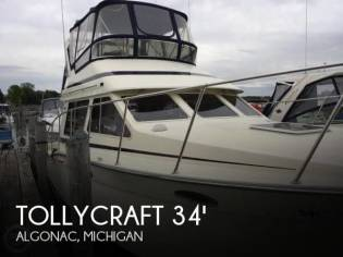 Tollycraft 34 Sport Sedan