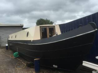 Narrowboat Cruiser Stern 63ft 1.5 bmc