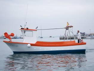 Barco de pesca de artes menores