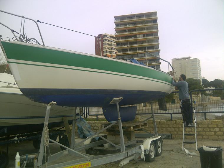 First class 8 en marina alicante veleros de ocasi n for First class 8 interieur