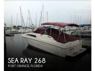 Sea Ray 268 Weekender