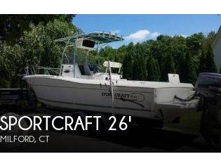 Sportcraft 260 Center Console