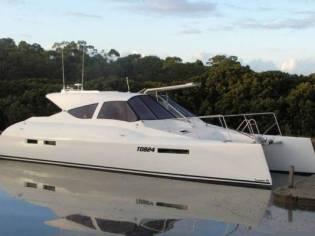 Custom Hames Power Catamaran