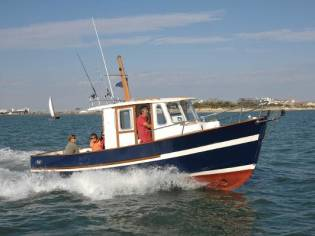 Custom Rhéa Marine Rhèa 750 Timonier