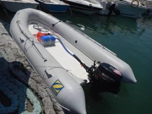 Embarcacion 4m, Motor 15 hp. Sin titulacion