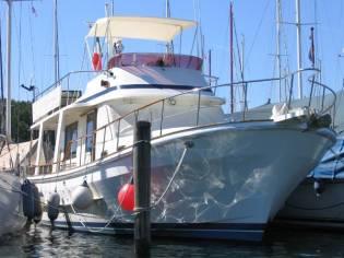 Custom Chung Hwa Boat Chung Hwa Trawler 38 Europa