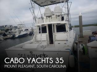 Cabo Yachts 35 Flybridge SF
