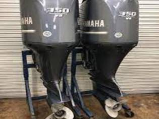 Used Yamaha 350HP 4 Stroke Outboard Motor Engine
