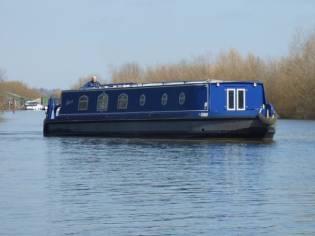 Wide Beam Narrowboat 56 x 10 Sea Otter