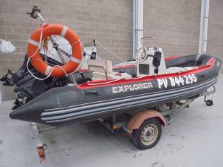 SEMIRRIGIDA BOMBARD EXPLORER 500