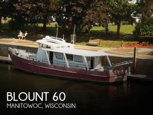 Blount 60 Converted Research Vessel