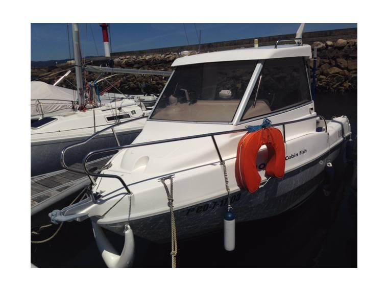 Rio 550 cabine fish en pto de cedeira barcos de pesca for Cabine del fiume bandera