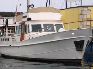 Custom trawler navetta olandese