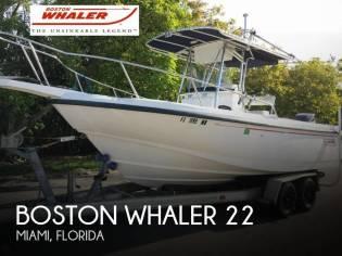 Boston Whaler 23 Outrage