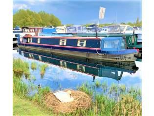 Narrowboat Hixon 57' Cruiser Stern