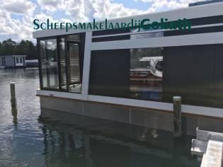 Houseboat Green Cat 1200