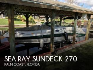 Sea Ray Sundeck 270