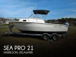 Sea Pro 21 Walkaround