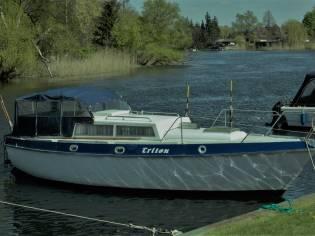 Boddenkönig, umgebautes Segelboot in gutem Zustand