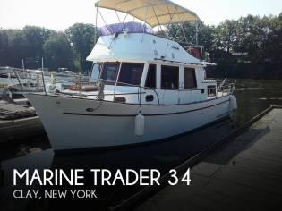Marine Trader DC 34 Trawler