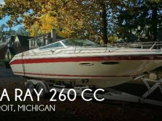 Sea Ray 260 CC