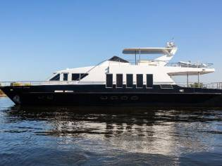 Steel Yacht Pearl of the Dnieper