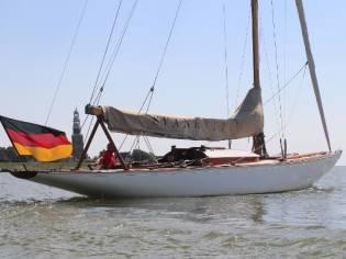 Classic Eight Metre Yacht