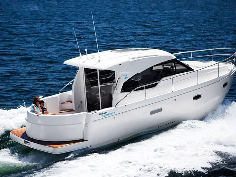 Rodman Spirit 31 Hardtop Inboard Version