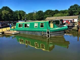 Custom Narrowboat 32'