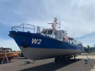 Hamburg-Bergedorf Ex Politieboot W2