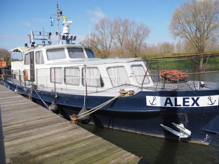 Werkboot Met SI Woonschip