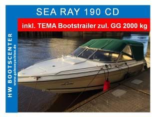 Sea Ray - 190 CD mit Trailer *VERKAUFT