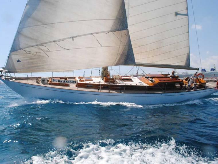 Sloop clásico Crucero regata