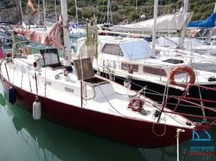 Custom Alan Buchanan 37' Sloop Steel