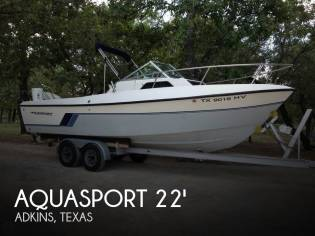 Aquasport 222 Express Fisherman
